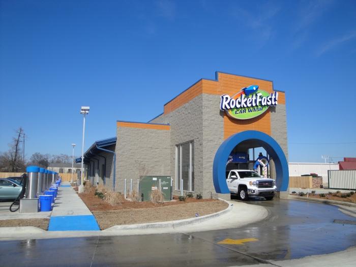 Rocketfast Car Wash Don Robertson